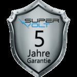 5 Jahre Garantie Label